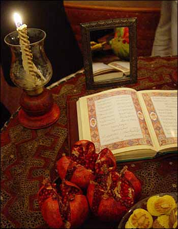 شب یلدا yalda night